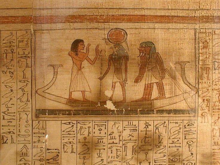 Египетская книга мертвых. Это книга о жизни, победившей смерть.