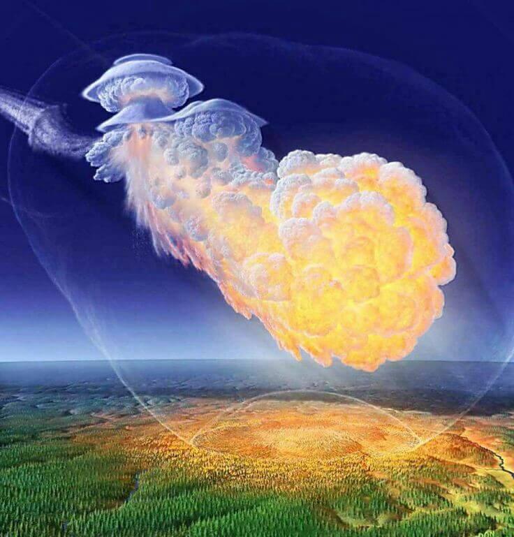 Место падения тунгусского метеорита. Очередная разгадка