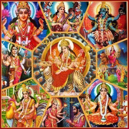Махалеви – верховная богиня и главный объект почитания в шактизме, или тантризме, – имеет разные иконографические обличья