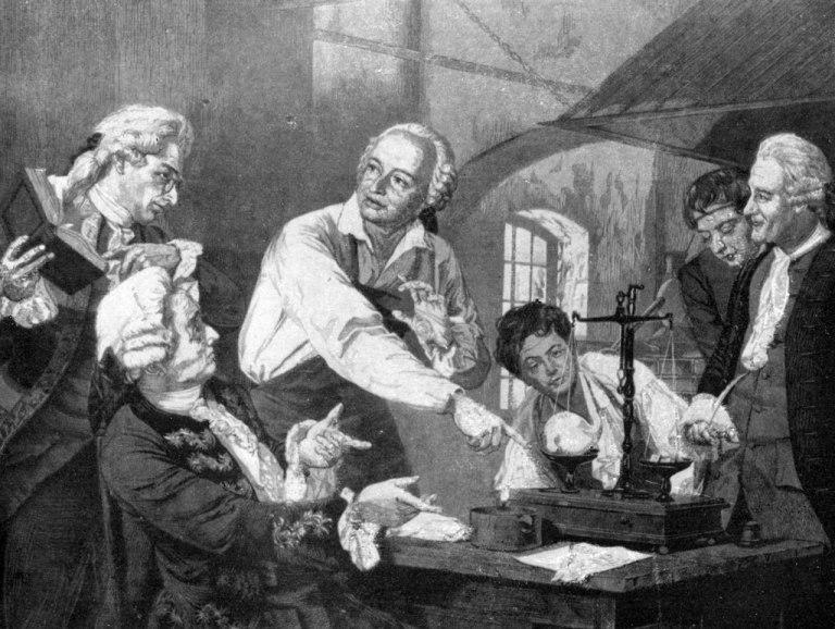 Ломоносов кратко о загадочном происхождении ученого