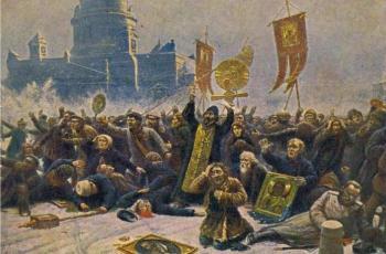 Кровавое воскресенье. 9 января 113 лет назад. Революция начало
