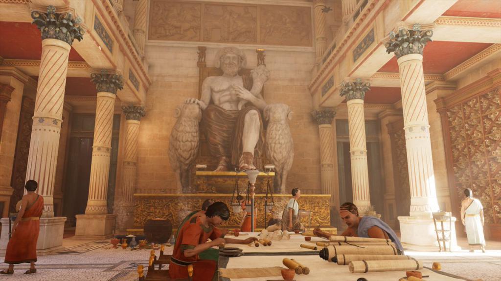 александрийская библиотека в древности