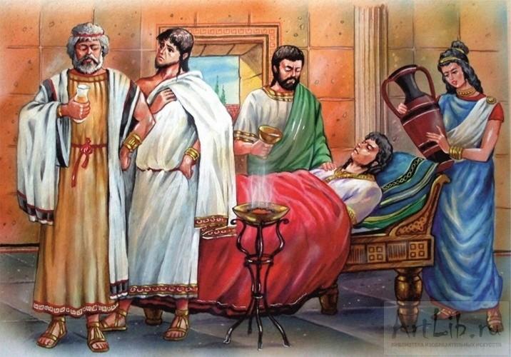 врачи древней греции