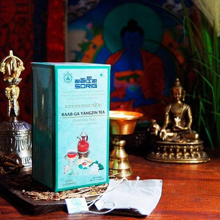 Тибетский чай Рааб-Га Янджин