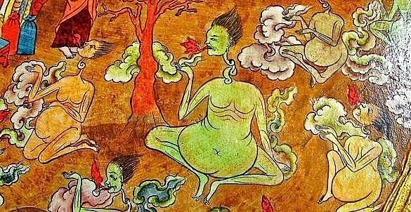 Неблагоприятные знаки смерти в тибетской медицине