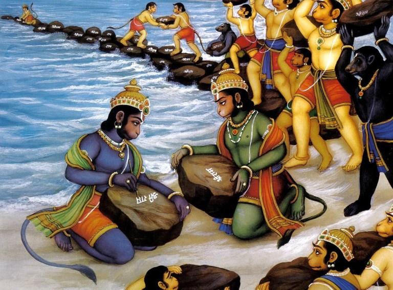 Мост Рамы, из древних мифов соединяет Шри-Ланку
