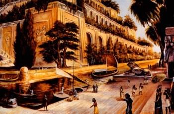 Сады Семирамиды. Чудо света древнего мира. Как выглядели