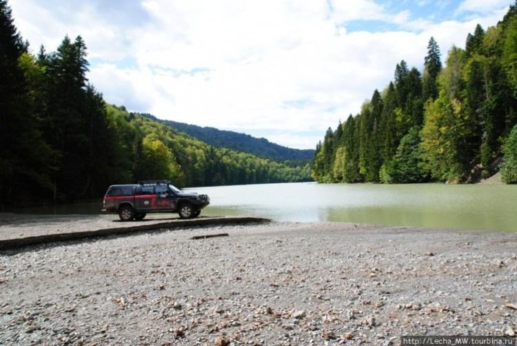 Озеро Эрцо в Южной Осетии. Аномальные особености