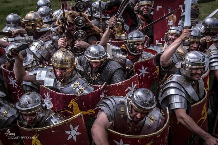 Сражение в тевтобургском лесу. Гибель римского легиона