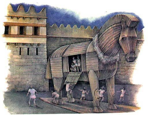 Легенда о троянском коне