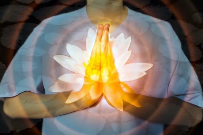 медитация цветовая