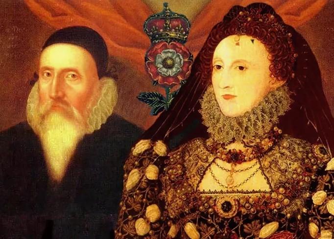 Королева Елизавета и Джон Ди