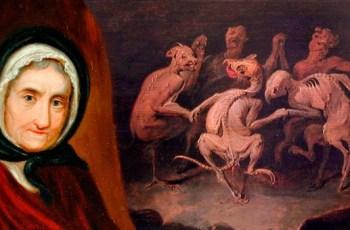 Матушка Шиптон ведьма