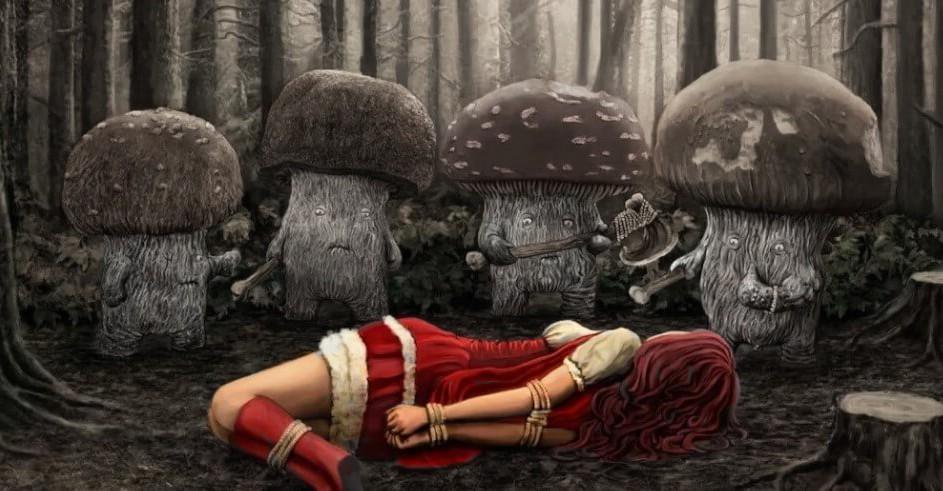 Самый ядовитый гриб в мире