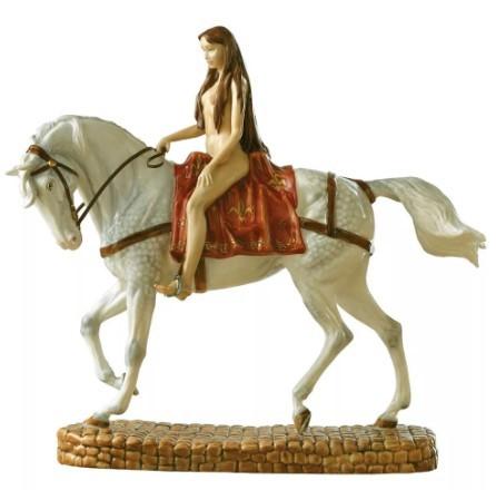 статуетка леди годива