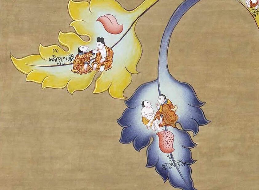 Дерево лечения в тибетской медицине