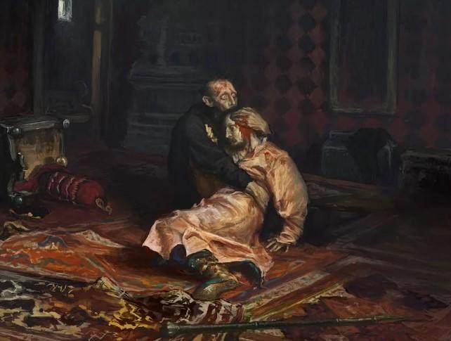И.Е. Репин. Иван Грозный и сын его Иван