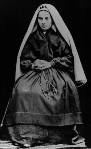 Дева Мария Бернадетт Субиру,