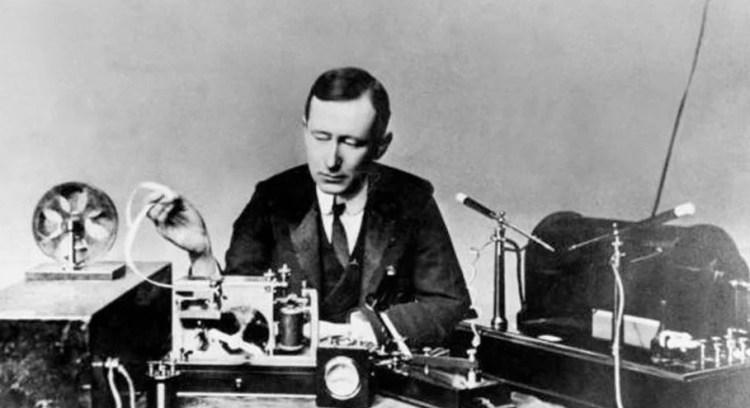 радио изобрел маркони