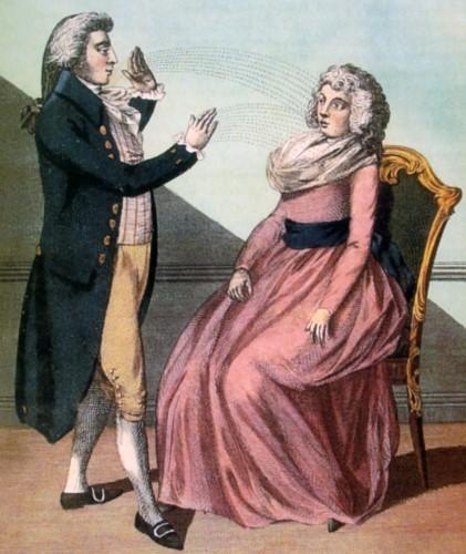 Месмер вначале даже не подозревал, что открыл механизм психического внушения и вплотную подошёл к тому, что мы сегодня называем гипнозом.