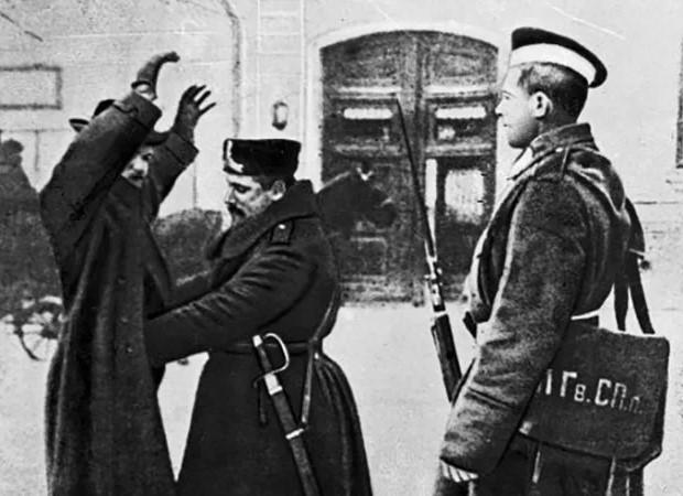 обыск полиции царской россии