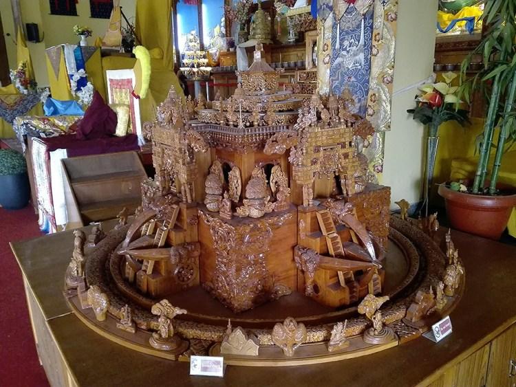 мандала чакрасамвара. Монастырь Гьюто