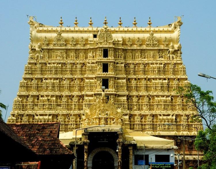 Здание храма Вишну