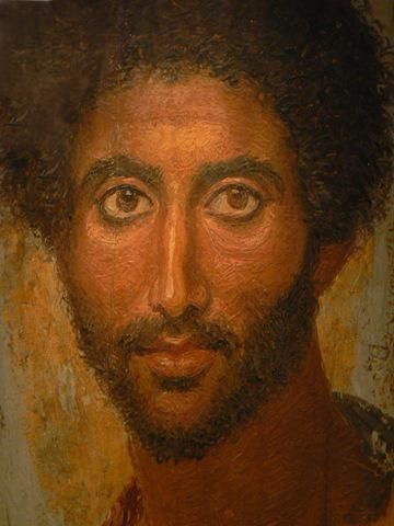 Египет портрет мужчины с бородой фаюмский