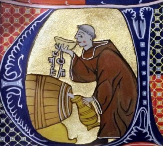 винодел монах