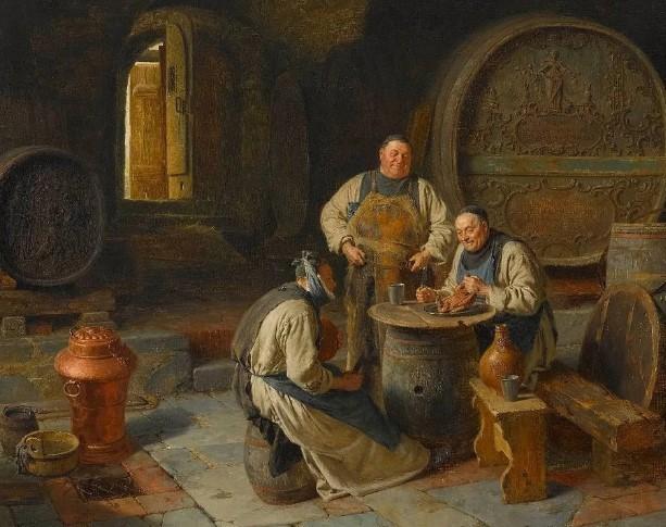 Качество вина тоже было разным – от вина простого до вина для литургии