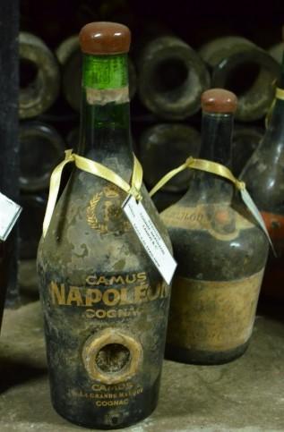 старинные бутылки наполеона