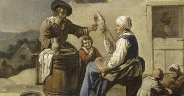сколько раньше пили вина