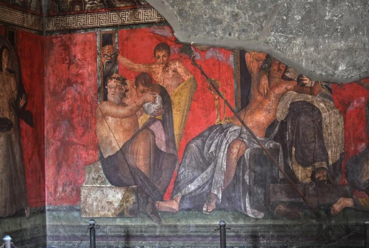 Римская настенная живопись (называемая также помпейской, по основному месту находок)