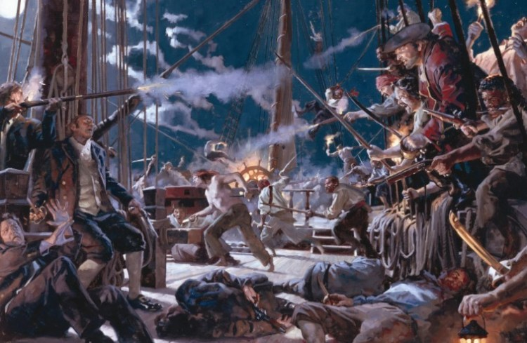 Бальтазар Косса Кровавый Пират и Папа Римский