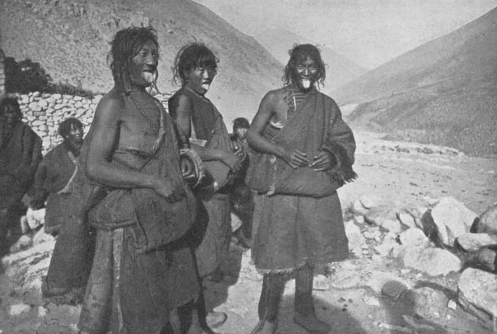 тибетские пастухи