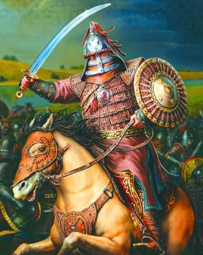 Ордынские войска против Тамерлана