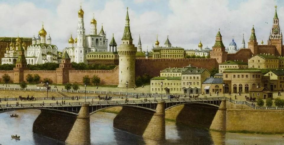 История Кремля