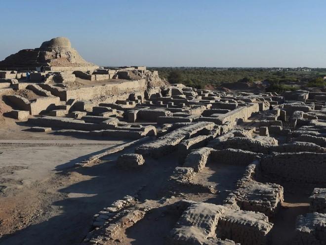 руины харапской цивилизации