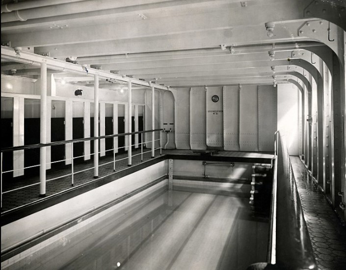 Плавательный бассейн Титаника