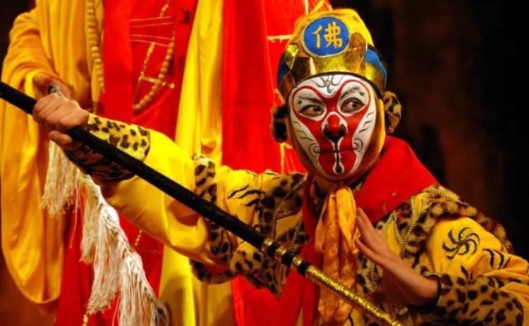 Маски Пекинской Оперы. Что обозначают цвета и символы