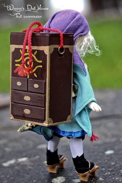 bjd doll medicineseller balljointeddoll mononoke... (Фото wixanawiggova на Flickr)