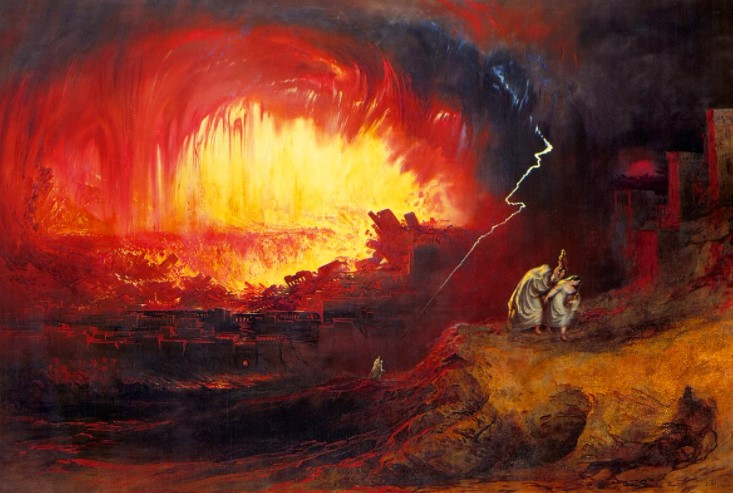Содом и Гоморра наказанные богом города