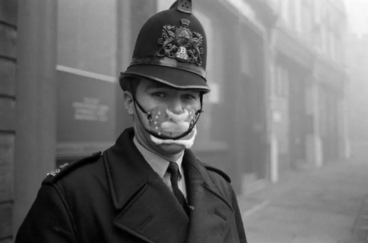 Туман убийца в Лондоне. Великий Смог ядовитого газа