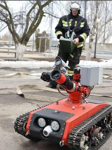 пожарники роботы