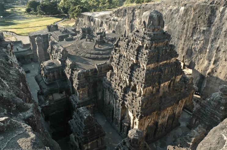 Храм Кайласа в Индии. Кто воздвиг Уникальное Сооружение