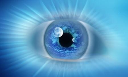 третий глаз голубой