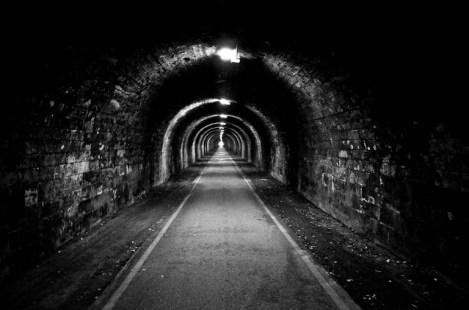 The Innocent Railway Tunnel cycle path