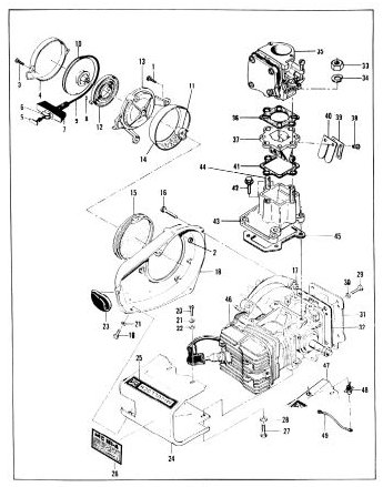 McCulloch MC101 Go-Kart Engine Manual