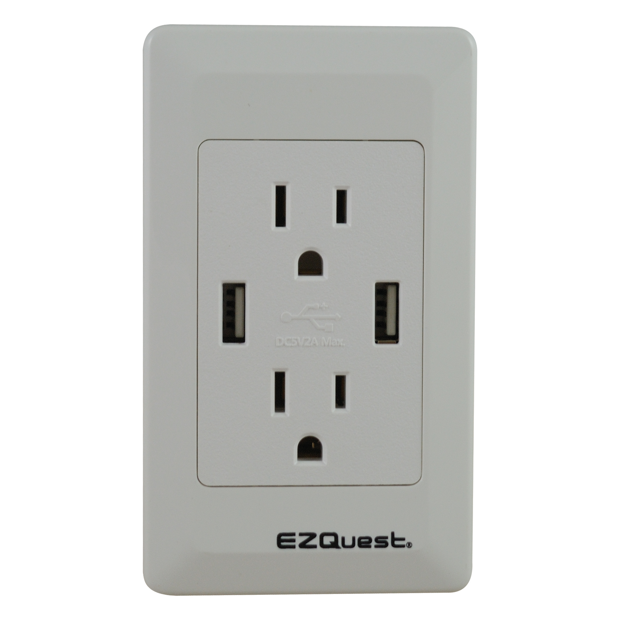 hight resolution of ezquest plug n charge usb wall outlet charger north american power outlet wiring
