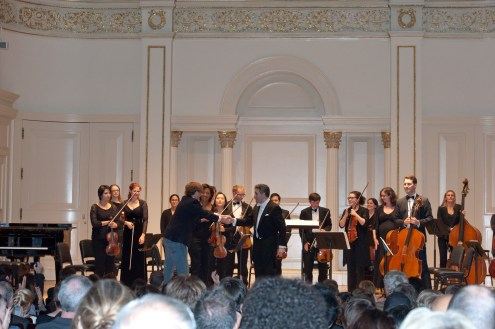 Chamber Orchestra of New York, Salvatore Di Vittorio, Music Director & Conductor, 'Mountain Suite', (World Premiere), by Ezra Donner, winner The Respighi Prize 2012 Composition